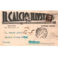 Calcio Illustrato cartolina 1932